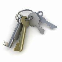 3d модель связки ключей