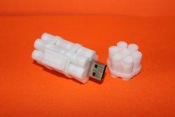 дизайн, моделирование и 3d печать корпуса для USB Flash