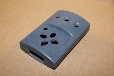 прототип корпуса отпечатанный на 3д принтере из ABS пластика вид сверху