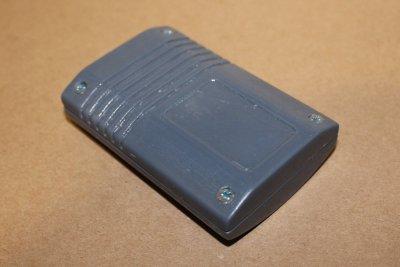 прототип корпуса отпечатанный на 3д принтере из ABS пластика вид снизу